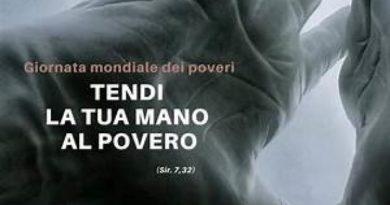 Domenica 15 novembre: 4ᵃ Giornata mondiale dei Poveri
